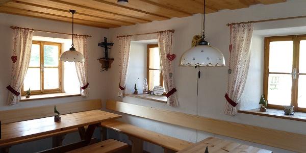 Stube in der Ebenforstalm-Hütte © Nationalpark Kalkalpen Buchner