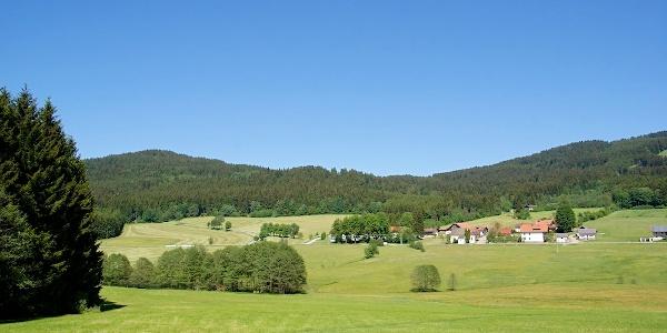 Klinglbach mit Käsplatte (links)