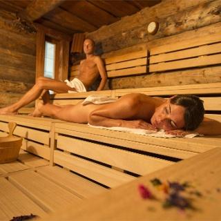 Sauna im Sportwell Zentrum in Mals