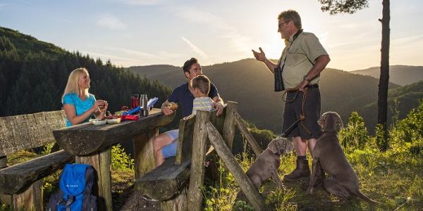 Picknick an der Bleiberg-Hütte