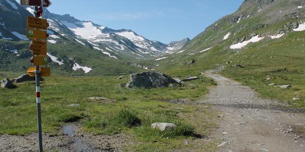 Val Maighels auf der Höhe der Magihelshütte