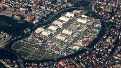 Theresienwiese München von oben