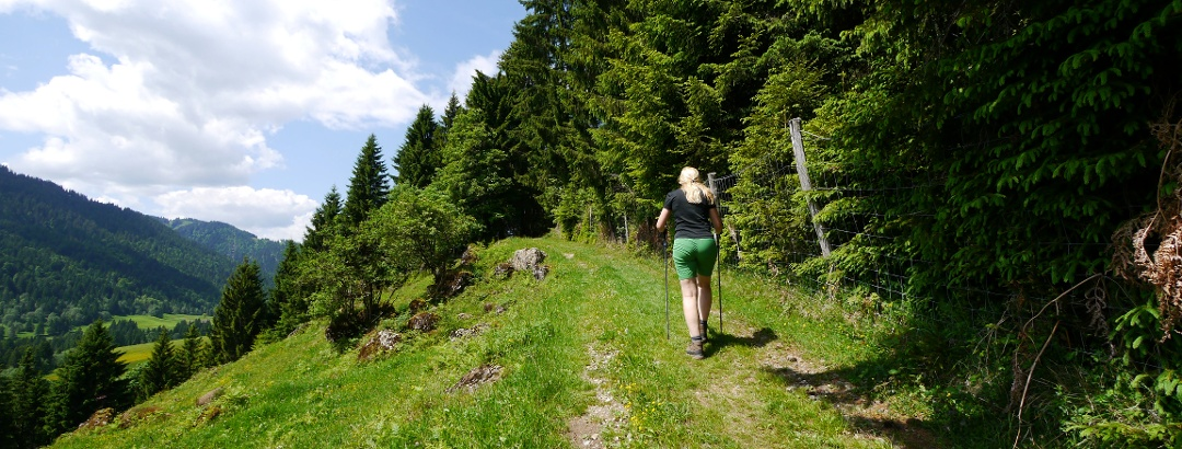 Panoramaweg über Balderschwang