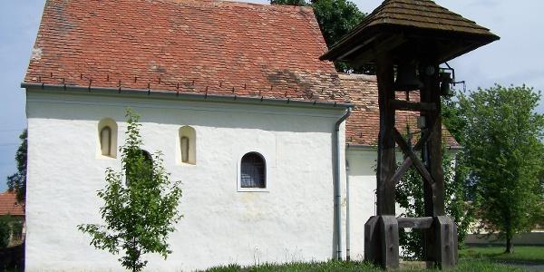 Árpád-kori templom Mesteriben