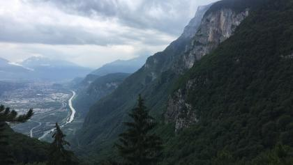 The view over Trento