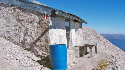 ÖTK-Schutzaus Linderhütte am Spitzkofel in den Lienzer Dolomiten, Osttirol