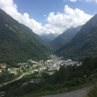 View of cauterets