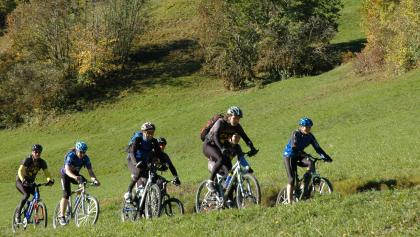 Biker am Heinzenberg