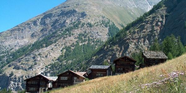 Das Alpdorf Furggstalden