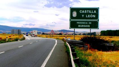 Letzte Etappe in der Region Kastilien und León