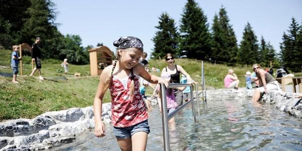 Kinder-Kneippanlage auf dem Heidipfad