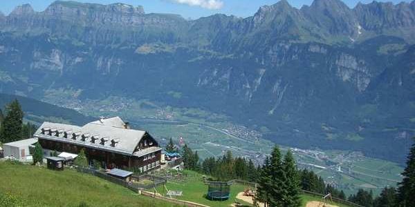 Verdiente Rast: Berghotel Schönhalden
