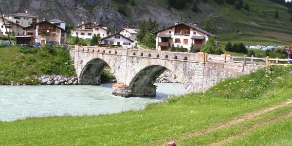 Innbrücke bei S-chanf