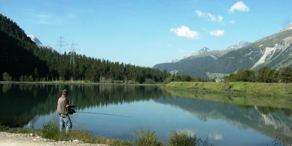Traumlandschaft am Lej da Gravatscha