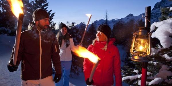 Winterwandern zur Alp Prasüra