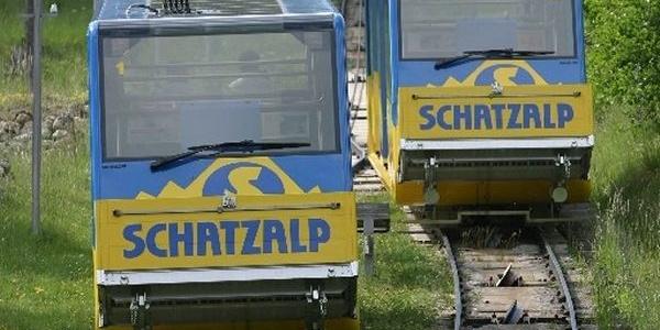 Schatzalp-Bahn mit Trassee