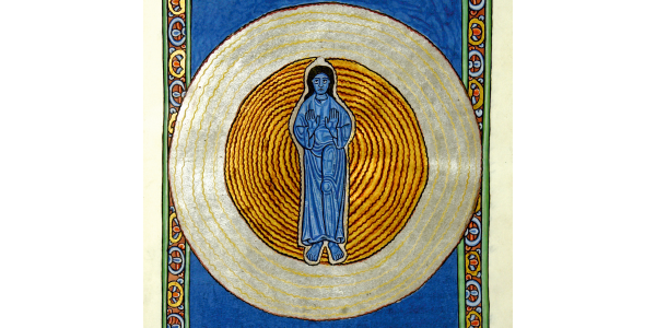 27 Hildegard-Tafel: Dreifaltigkeit