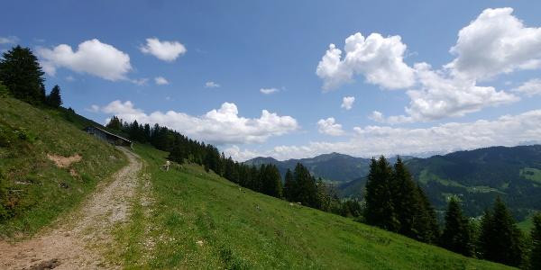 Wanderung: Balderschwanger Panoramarunde