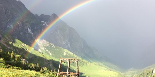 Regenbogen am C.v.Stahl-Haus