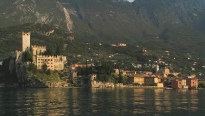 Blick auf Malcesine am Gardasee