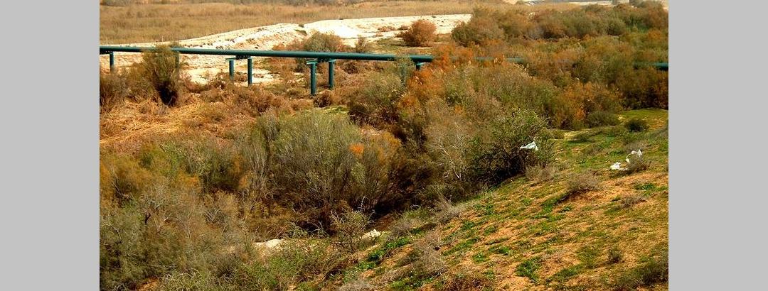 Eine schlauchbrücke