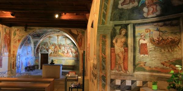 In der Kirche San Bernardo.