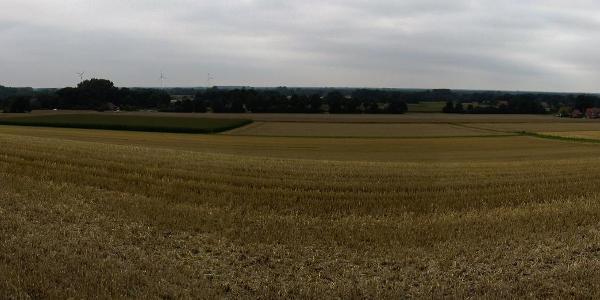 Panorama blick Tecklenburg