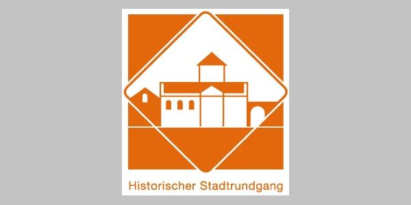 Wegekennzeichnung Historischer Stadtrundgang