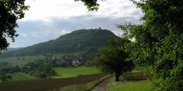 Blick auf die Küssaburg