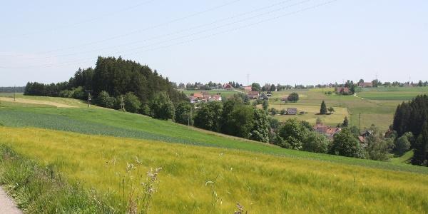Blick auf Burgberg