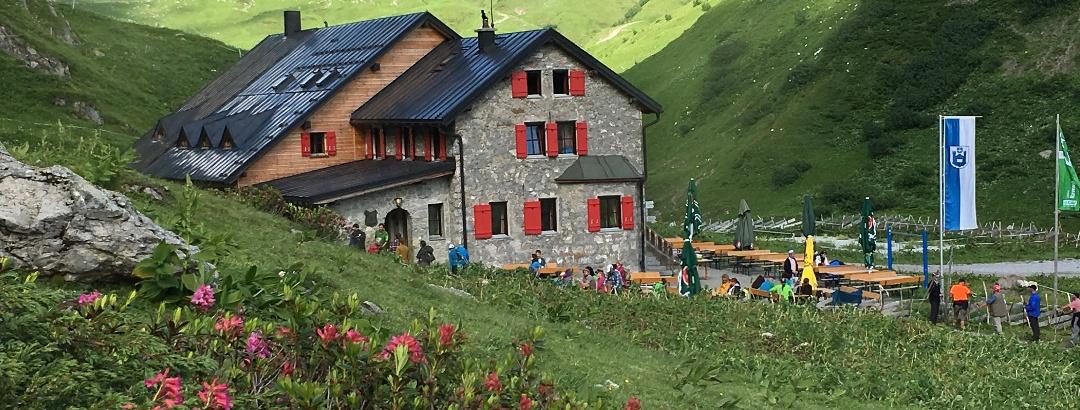 Die Ravensburger Hütte