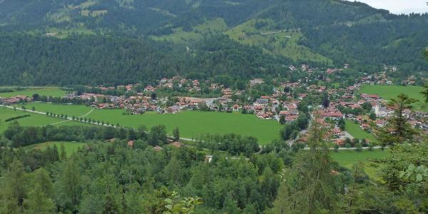 Bayrischzell Vom Höhenweg aus
