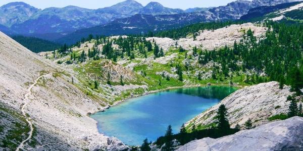 """Der """"große See"""" im Sieben-Seen-Tal"""