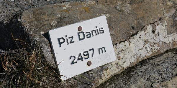Gipfelziel Piz Danis.