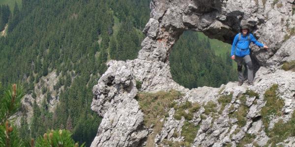 Foto-high-light zwischen 3-Schwestern und Gafadurahütte