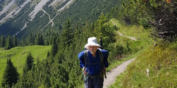 Panoramaweg zwischen Fürstensteig und 3 Schwestern