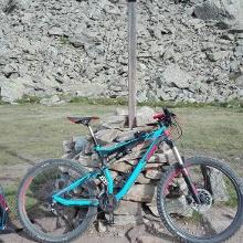 Foto von Mountainbike Transalp: Von Bad Hindelang an den Gardasee über den Tiefenbachferner, die Similaun-Hütte, das Rabbijoch und durch das Val Agola • Allgäu (26.07.2017 12:23:09 #2)