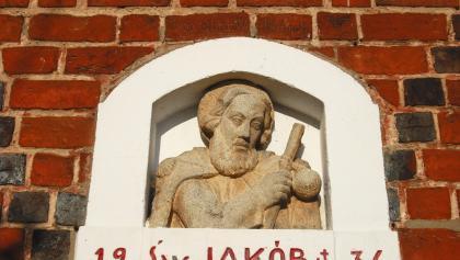Mogilno: St. Jakob an der Pfarrkirche