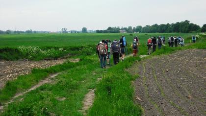 Piekary bei Gniezno: Pilgergruppe