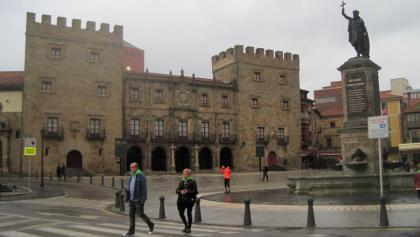 Gijón: Plaza del Marqués