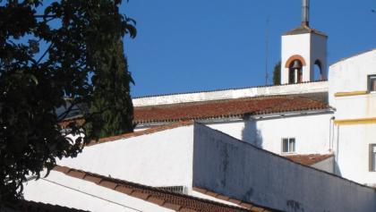 Alcuéscar: Pilger sind im Kloster willkommen
