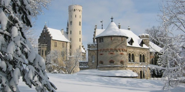 Castle of Lichtenstein </div>