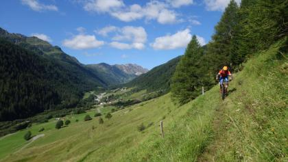 Bedretto Shuttle Panorama Single Trail Gotthard Airolo