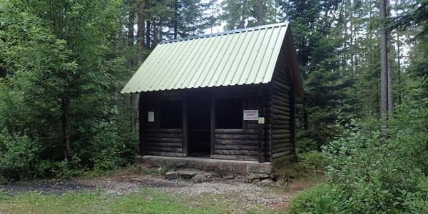 Hütte am Herrenwieser See