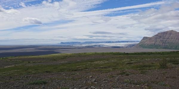 Das weitläufige Areal des Nationalparks