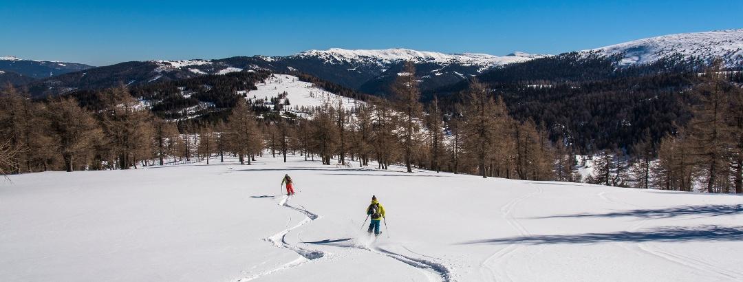 Skidurchquerung Nockberge-Trail, Etappe1
