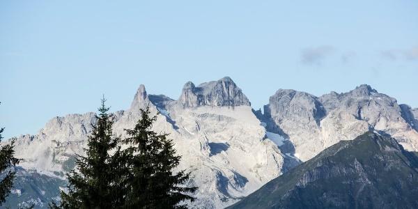 Blick von Bartholomäberg auf Drei Türme
