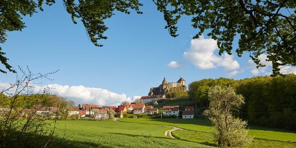 Blick auf Burg Hohenstein