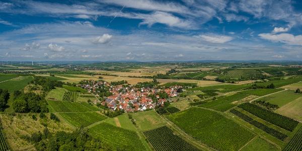 Luftaufnahme Rommersheim