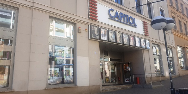 Haupteingang Capitol Kino